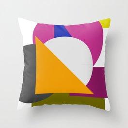 square biz Throw Pillow