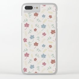 Otoño Clear iPhone Case