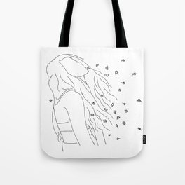 people like me gone forever when you say goodbye Tote Bag
