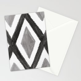 Del Rio Watercolor in Black and White Stationery Cards