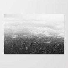 Tokyo under clouds Canvas Print