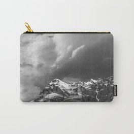 Mountain and Clouds Jasper, Alberta Carry-All Pouch