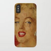 monroe iPhone & iPod Cases featuring Monroe by Ancello