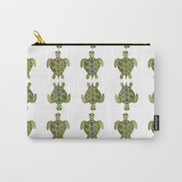 Wise Sea Turtle Carry-All Pouch