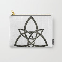 Rustic Celtic Knot Carry-All Pouch