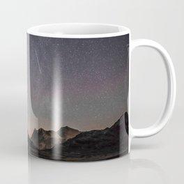 Mountain Lake Under the Stars Coffee Mug