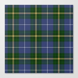 Tartan Of Nova Scotia Canvas Print