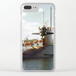 USS JOHN ADAMS (SSBN-620) Clear iPhone Case