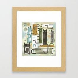 EARS EYES & TAILS Framed Art Print