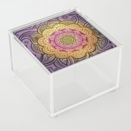 Colorful Mandala Acrylic Box