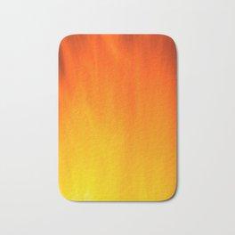 Mark Rothko Inspired Fire Painting Bath Mat