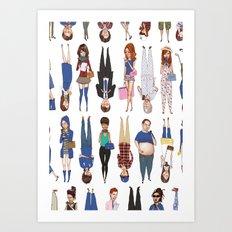 Hey Hey We're the Archetypes! Art Print