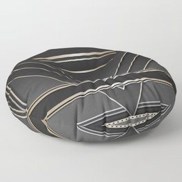 Art deco design IV Floor Pillow
