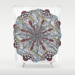 Key Largo Mandala Shower Curtain