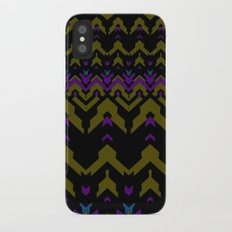 Sweater Pattern iPhone X Slim Case