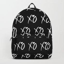 Xo,xo Black pattern Backpack