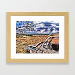 ay de mi Framed Art Print