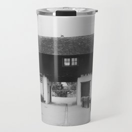 Old English Barn Travel Mug
