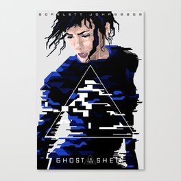 Ghost in the Shell Major Canvas Print