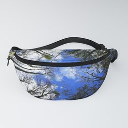 Majestic Trees Reaching For The Blue Sky Fanny Pack