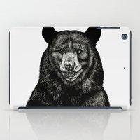 selena gomez iPad Cases featuring Bear by Sebastian Gomez de la Torre