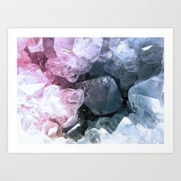 Crystal Cave Art Print