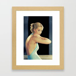 Bette Davis, Actress Framed Art Print