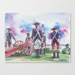 Artillery Company Canvas Print