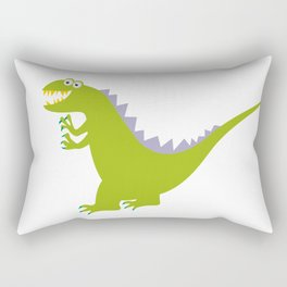 like Godzilla Rectangular Pillow