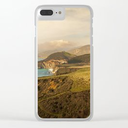 Bixby Bridge Big Sur California Pacific Coast Highway Adventure 0580 Clear iPhone Case