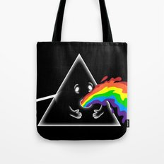 Barf Side of the moon Tote Bag
