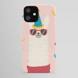 Happy birthday lama (llama) iPhone Case