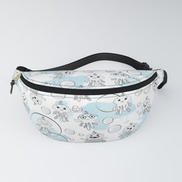 Octobaby Blues Fanny Pack