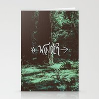 wander Stationery Cards featuring Wander by Leah Flores