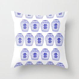 Ginger Jars Classic Throw Pillow