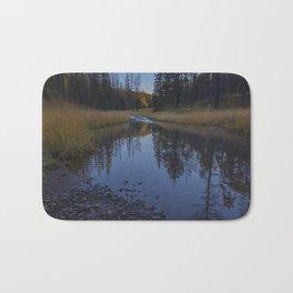 Backroad pond Bath Mat