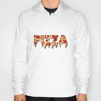 pizza Hoodies featuring Pizza... by radoverlays
