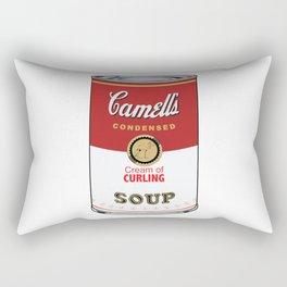 Camell's Soup CREAM OF CURLING Pop Art Rectangular Pillow