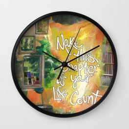 Chapter Wall Clock