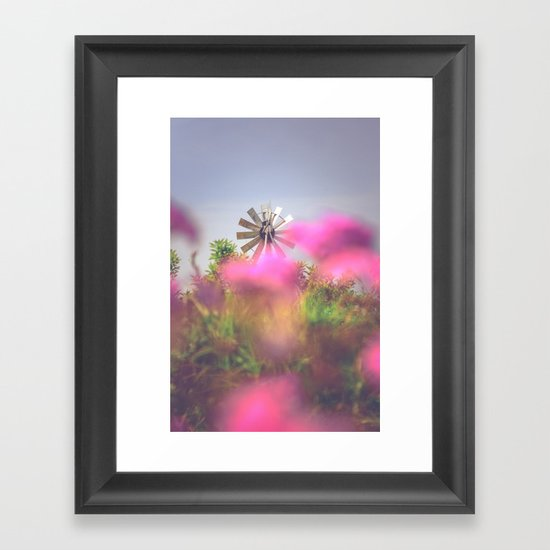 Summer Winds Framed Art Print