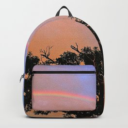 FULL RAINBOW ACROSS SKY Backpack