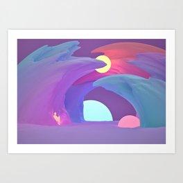 Creative Space Art Print