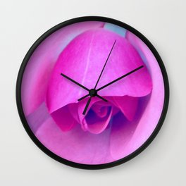 Pin Rose II Wall Clock