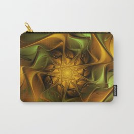 The Golden Centre, Fractal Art Carry-All Pouch