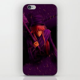 Undertaker Colour Challenge iPhone Skin