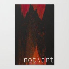 n\a Blood Canvas Print