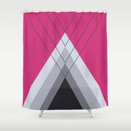 Iglu Pink Yarrow Shower Curtain