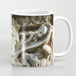 Chicago Architectural Detail Ornamental Column Face Coffee Mug