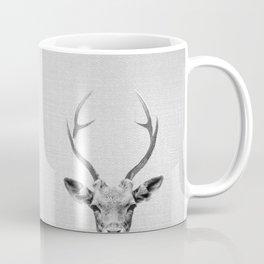 Deer - Black & White Coffee Mug