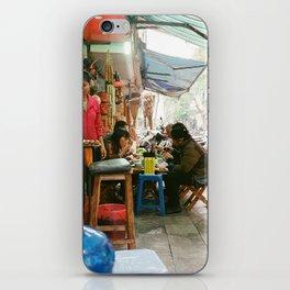 Lunch In Hanoi iPhone Skin